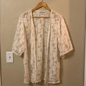 Express Lace Kimono